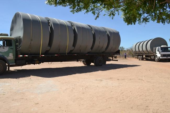 Belém do Piauí recebe cisternas do programa Água para Todos - Imagem 5