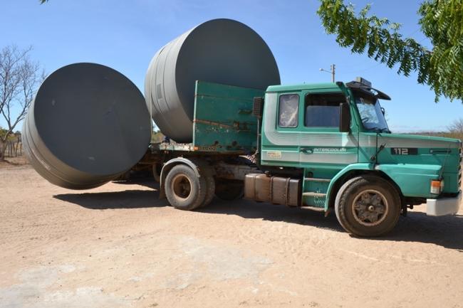 Belém do Piauí recebe cisternas do programa Água para Todos - Imagem 1