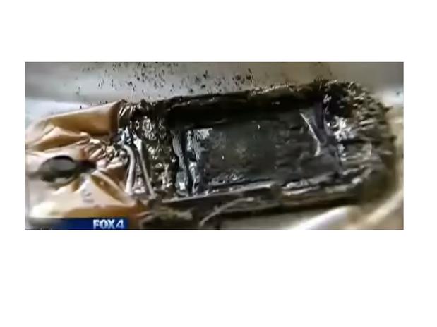 Celular de menina de 13 anos pega fogo enquanto ela dorme