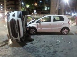 Condutora que provocou acidente fatal na Jatiúca estaria bêbada e inabilitada
