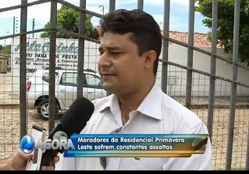 Moradores da zona leste de Teresina pedem segurança diante de arrombamentos e assaltos