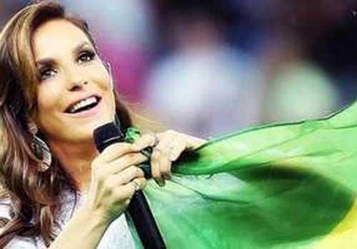 Ivete Sangalo sobre cantar na final da Copa: