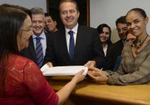 PSB registra candidatura de Eduardo Campos à Presidência