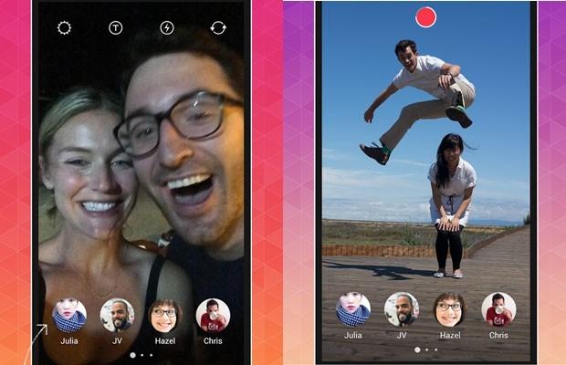 Instagram lan軋 Bolt, app para enviar fotos que se apagam
