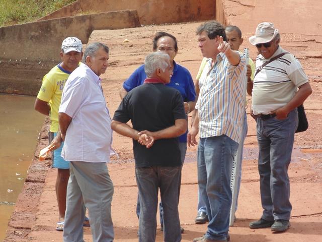 Reforma da Barragem Filinto Rêgo ficará pronta em 180 dias