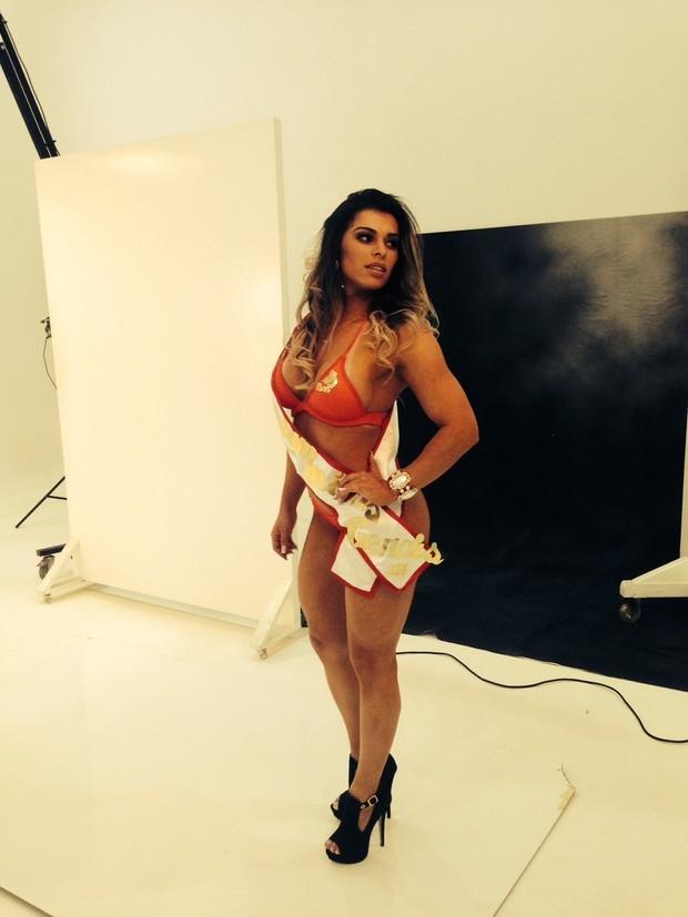 Candidatas ao Miss Bumbum Brasil 2014 fazem primeiro ensaio oficial