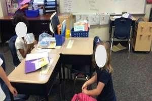 Menina castigada assiste aulas no chão por semanas no Texas