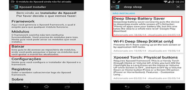Aprenda a aumentar a duração da bateria do Android com o Xposed