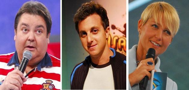 Faustão, Huck, Xuxa...Saiba quem são os apresentadores com maiores salários da televisão