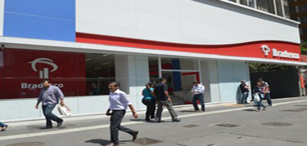 Lucro do Bradesco sobe para R$ 3,778 bi no 2º trimestre de 2014