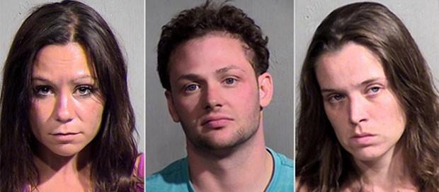 Trio é preso após ménage em banheira de condomínio nos EUA