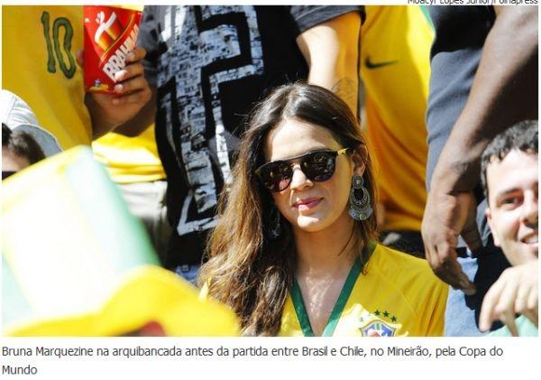 Famosos chegam ao Castelão em Fortaleza para assistir jogo do Brasil contra a Colômbia