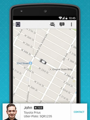 Taxistas de São Paulo se declaram contra aplicativo Uber