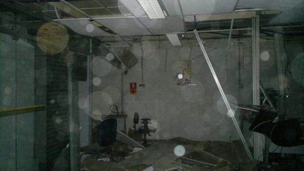 Assaltantes destroem agência do BB em Formosa/BA e atiram contra quartel da PM