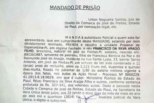 Preso acusado de comandar tráfico em várias cidades no PI