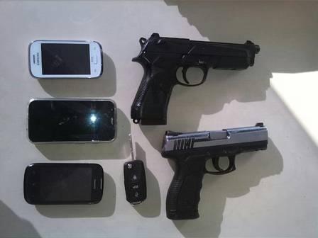 Três bandidos são presos após tentativa de assalto a sargento da PM