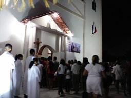 Tem início os festejos de Nossa Senhora do Carmo, em Domingos Mourão.