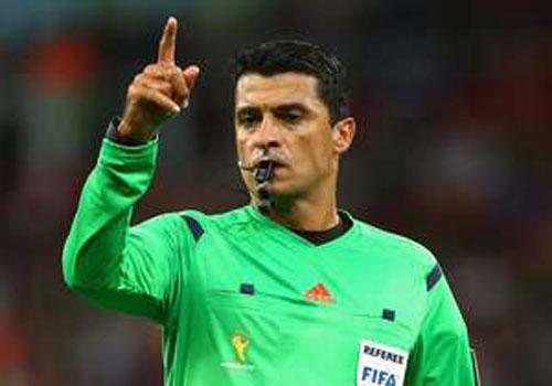 Trio de arbitragem brasileiro está entre os aptos à final