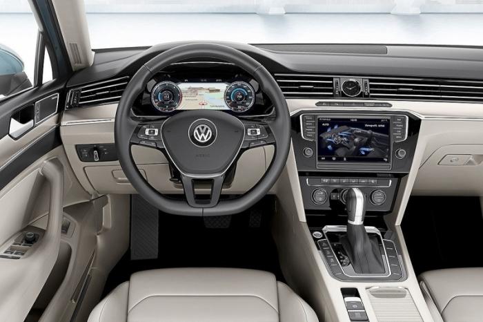 Volkswagen mostra novidades do novo Passat em imagens do carro
