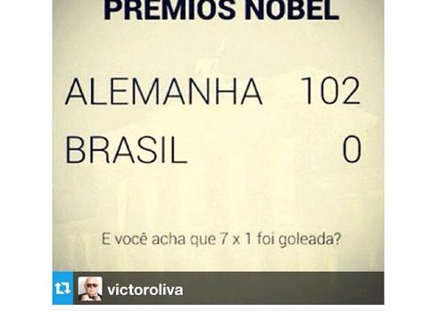Ronaldo ironiza sobre goleada e é xingado no Instagram