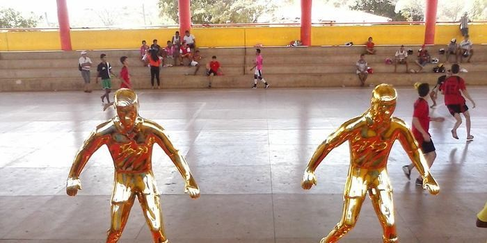 Mais esportes e cidadania - realizado II Torneio de Futsal do Grupo Força Jovem.