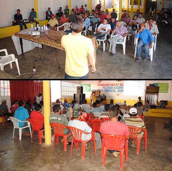 Secretaria de Agricultura, STTR, EMATER e ADAPI orientam criadores sobre a preveção da brucelose bovina