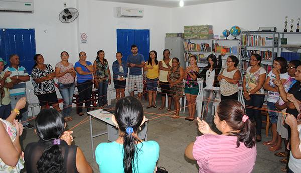 ACS e Técnicos de Enfermagem de Cocal participam de capacitação do Projeto Caminhos do Cuidado