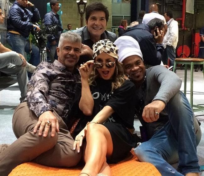 Daniel, Lulu Santos, Claudia Leitte e Carlinhos Brown! Jurados do The Voice se reúnem