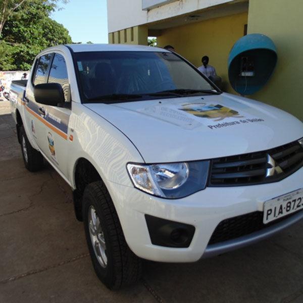 Esforço de Gustavo Medeiros reforça a frota da Prefeitura de União