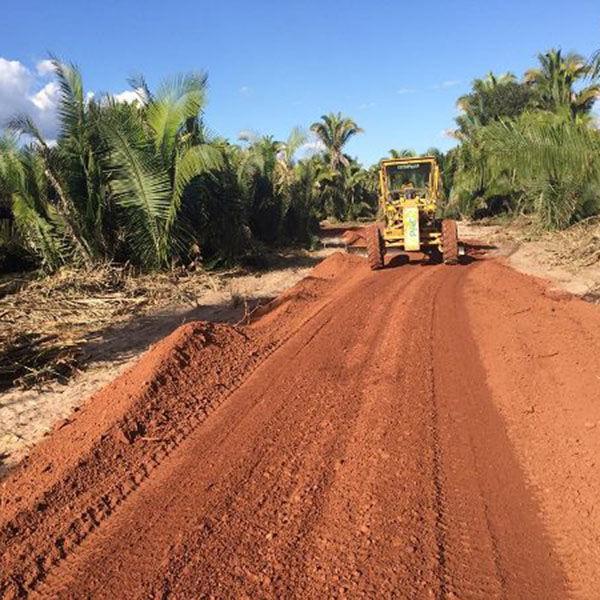 Prefeito de União constrói mais uma estrada na zona rural
