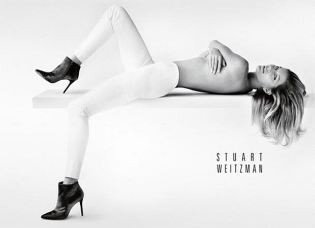 Gisele Bündchen faz topless em nova campanha de marca de calçados - Imagem 1