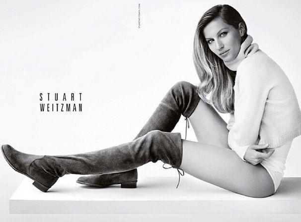 Gisele Bündchen faz topless em nova campanha de marca de calçados - Imagem 2