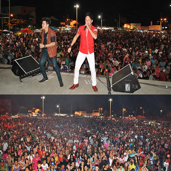 Festejos: Grande público, muita animação e tranquilidade marca segunda noite de festas em Praça Pública