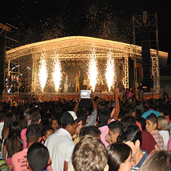 Festejos: Penúltima noite de festas na Nova Praça de Eventos bateu recorde de público em Cocal
