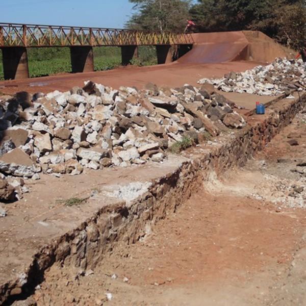 Obras de reforma da Barragem Filinto Rêgo estão em ritmo acelerado