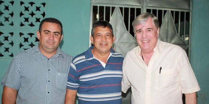 Dep. Federal Hugo Napoleão visita município de São Miguel do Tapuio