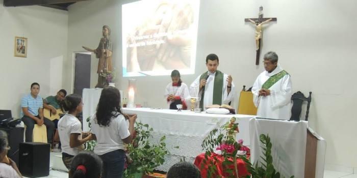 Festejo de São Raimundo em Curralinhos- Fotos da missa dia 25/08/14