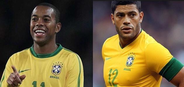 Hulk é afastado e Robinho volta para Seleção Brasileira, define Dunga