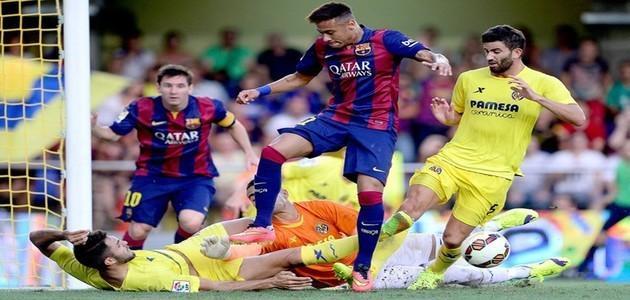 Neymar é decisivo para lance do gol da vitória do Barça sobre o Villareal