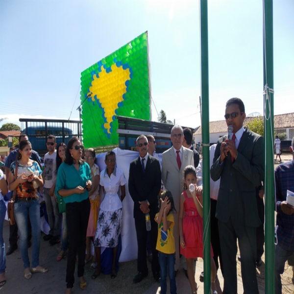 Prefeitura realiza tradicional desfile cívico em homenagem a Independência do Brasil