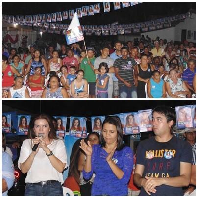 Multidão lota reunião de Ana Célia e da Deputada Iracema Portella - Imagem 2