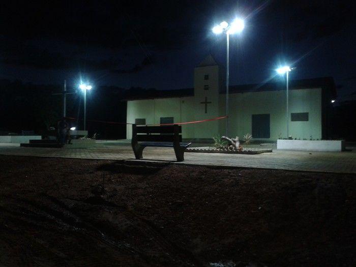 Prefeitura inaugura construção da Praça da Igreja na localidade Água Branca - Imagem 1