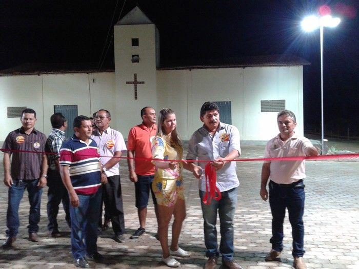 Prefeitura inaugura construção da Praça da Igreja na localidade Água Branca - Imagem 5