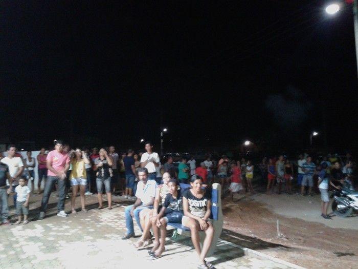 Prefeitura inaugura construção da Praça da Igreja na localidade Água Branca - Imagem 6