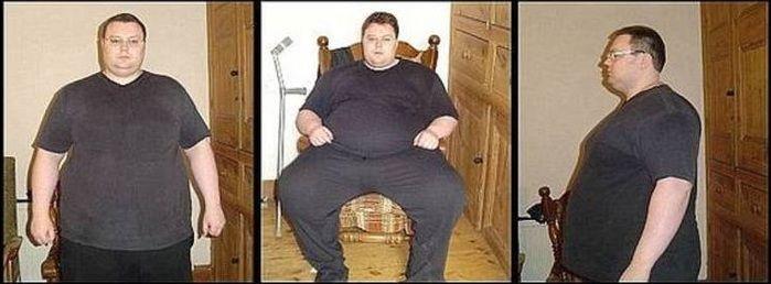 Obeso mórbido perde 114 kg após tentar suicídio e vira gato musculoso  - Imagem 2