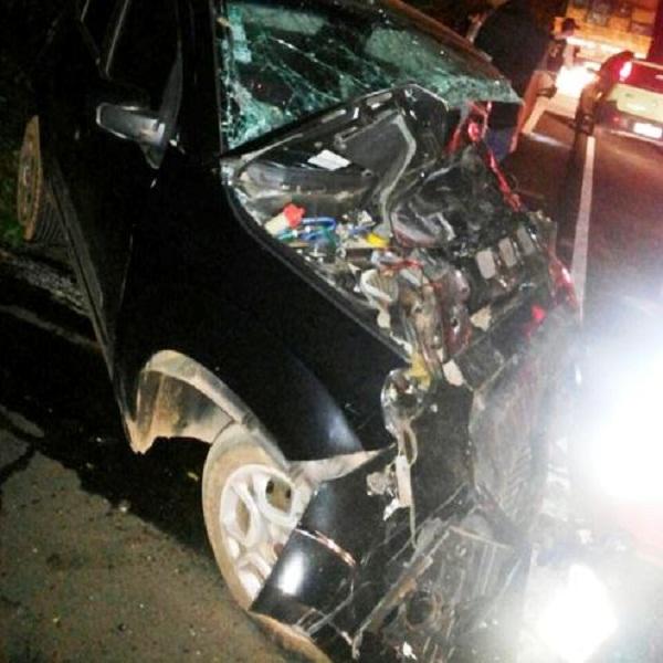 Acidente envolvendo dois veículos mata uma pessoa na BR-343