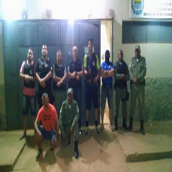 Polícia de Uruçuí prende fugitivos do assalto no Maranhão e quebra boca-de-fumo