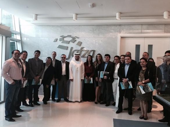 Comitiva realiza primeira agenda da missão China em Dubai