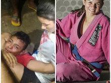 Lutadora que imobilizou assaltante estreia em torneio de MMA