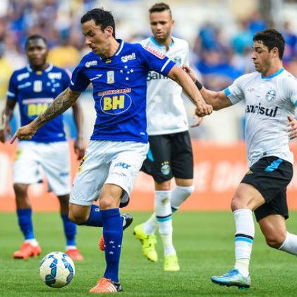Cruzeiro pressiona, mas jogo contra Grêmio fica no empate sem gols